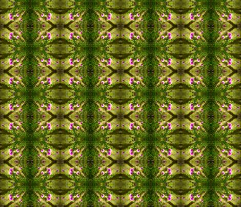 pom_pom_flowers_pattern fabric by jane_izzy_designs on Spoonflower - custom fabric