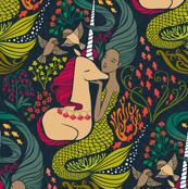The Mermaid and the Unicorn - Mamara