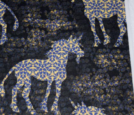 Shadowed Batik Unicorn