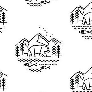 Alaska Bear & Fish