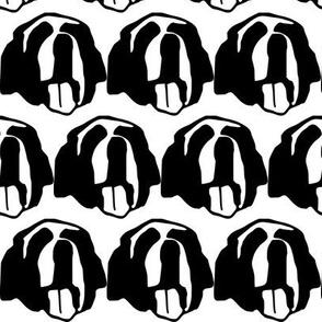 St. Bernard - happy dog face!