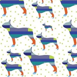 Geometric Bostons in multi color