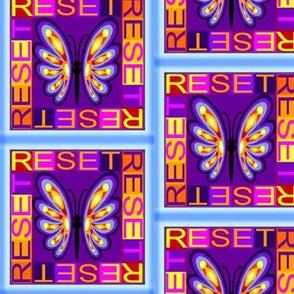 Purple Butterfly Reset