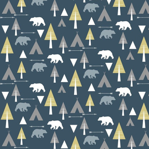 bear camp // on slate