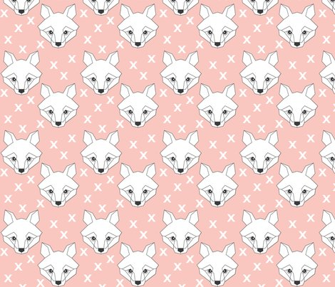 Fox-geometric-white-on-pink---white-crosses_shop_preview