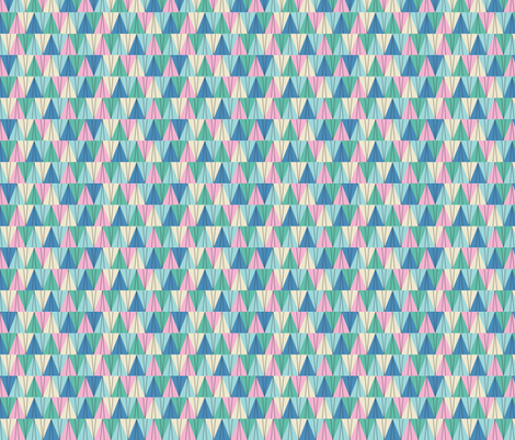 Paper Airplanes- Blue fabric by mintgreensewingmachine on Spoonflower - custom fabric