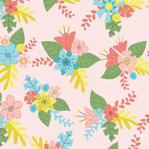 Flower Bunch- Pink