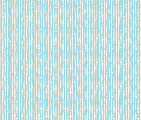 Bamboo- Blue fabric by mintgreensewingmachine on Spoonflower - custom fabric