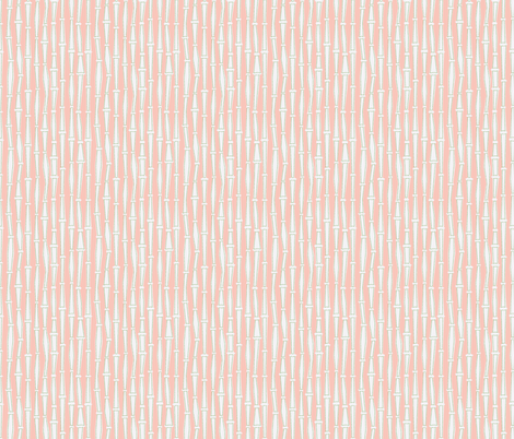 Bamboo- Pink fabric by mintgreensewingmachine on Spoonflower - custom fabric
