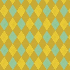 Harlequin- Mustard