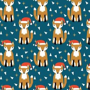 christmas fox cute holiday fox kids clothes kiddo cute christmas