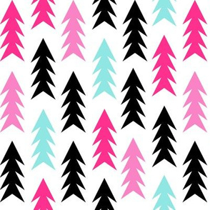 christmas tree forest fir tree triangles holiday simple scandinavian design tree forest trees