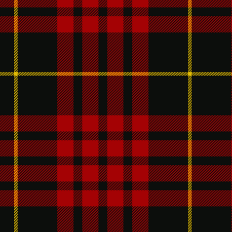 "MacQueen tartan - 6"" fabric by weavingmajor on Spoonflower - custom fabric"
