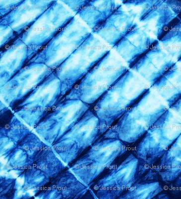 shibori - indigo tie dye   4