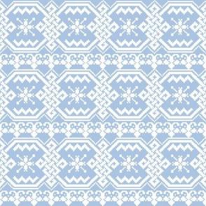 Snowflake Sweater blueberry