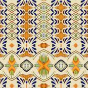 talavera-mex-tile- blue yellow