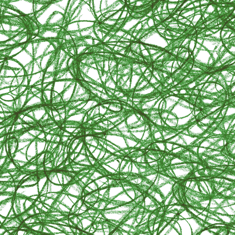 seamless crayon scribble in evergreen fabric by weavingmajor on Spoonflower - custom fabric