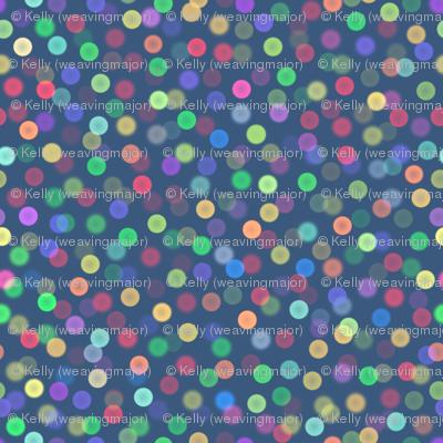 mini bokeh lights sparkle - Christmas Morning