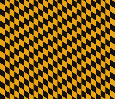 Maryland Flag Yellow/Black fabric by sarah_dre on Spoonflower - custom fabric