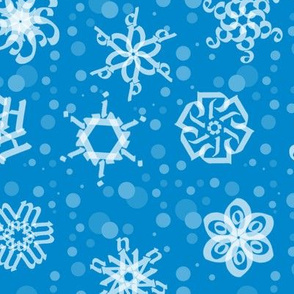 Alphabet Snowflakes