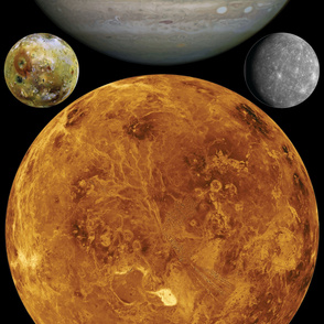 Planets and Moons