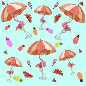 Keep Cool Flamingo