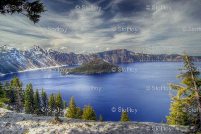 state oregon - crater lake