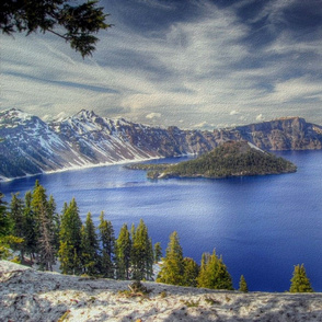 state oregon - crater lake