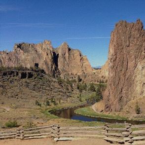 state oregon - smith rock