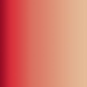 Deep Reds Ombre