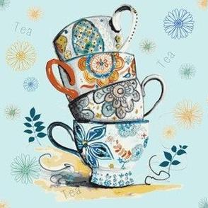 Tea Please on Blue