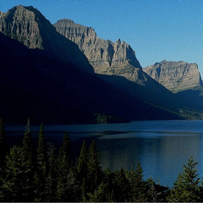 state montana - saint mary lake