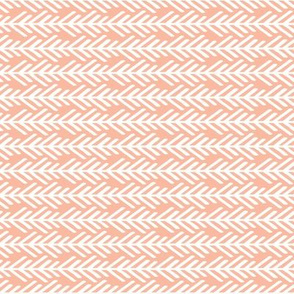 Peach / Pink / Coral Arrows Sideways