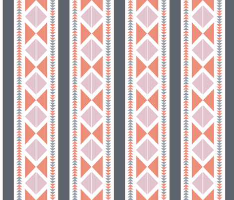 Tribal Posh fabric by thread_sa on Spoonflower - custom fabric
