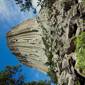 state wyoming - devils tower
