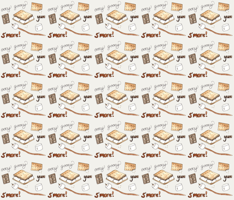smores fabric by chavamade on Spoonflower - custom fabric