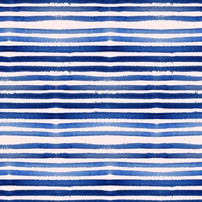 Shibori Pink & Blue Stripes