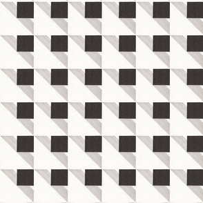 Houndstooth Buffalo Check