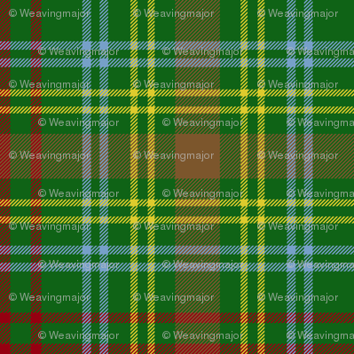 O'Brien tartan - modern colors