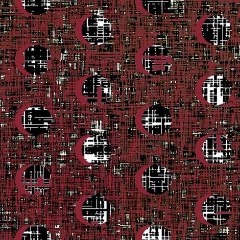 Halloween Vampire's blood moons by Su_G fabric by su_g on Spoonflower - custom fabric