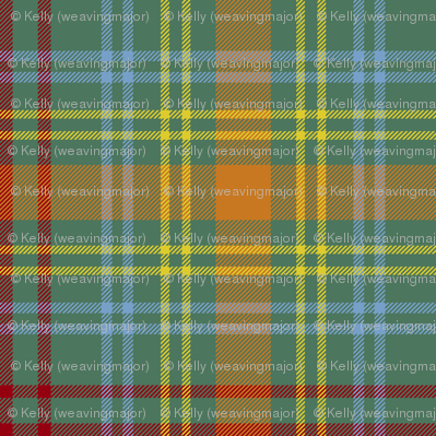 O'Brien tartan - ancient colors