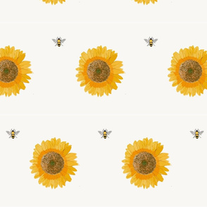 bee_and_sunflower_pattern
