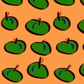 Techno #18 (2016) (Apples)