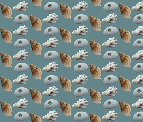 Seashore fabric by redthanet on Spoonflower - custom fabric