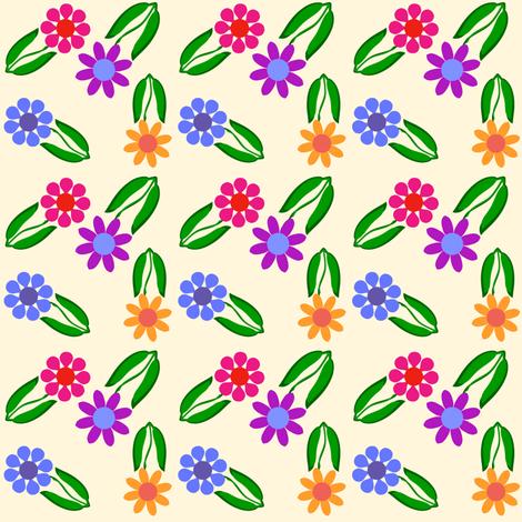 BittyFlowersWAC fabric by grannynan on Spoonflower - custom fabric