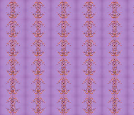 Coloured_Leaves_Purple_Sky_Pattern fabric by jane_izzy_designs on Spoonflower - custom fabric