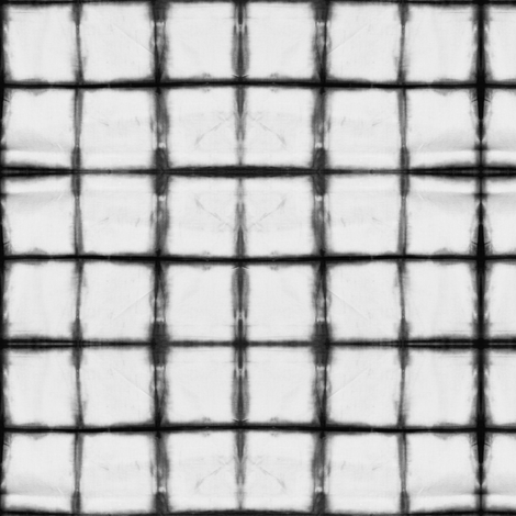 tie dye - grey grid fabric by littlearrowdesign on Spoonflower - custom fabric