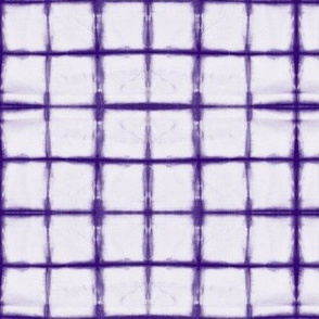 tie dye - purple grid