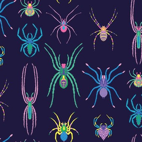 pop art spiders