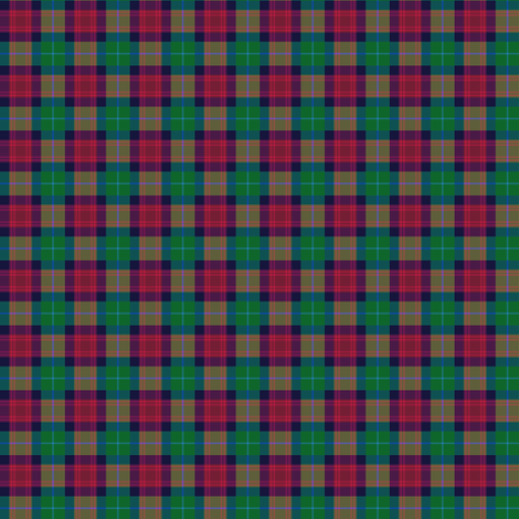 """Akins tartan, 1"""" (colors look wrong but will print correctly on cotton) fabric by weavingmajor on Spoonflower - custom fabric"""